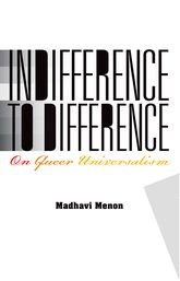 Indifference to DifferenceOn Queer Universalism
